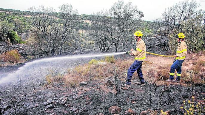 El 36 per cent dels incendis forestals del 2019 van ser causats per negligències