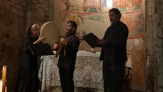 Santa Maria de Taüll i Sant Joan de Boí, amb música