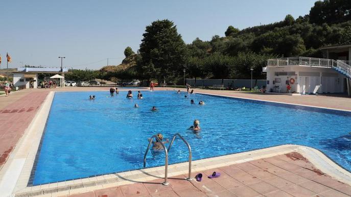 Aitona, la Granja i Seròs reobren les piscines després d'una setmana