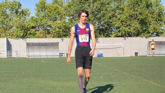 Bernat Erta torna a competir sent segon en els 400 metres de Getafe
