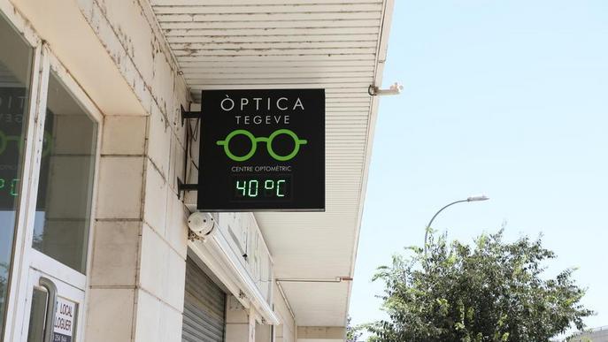 Termometre estiu altes temperatures. Arxiu