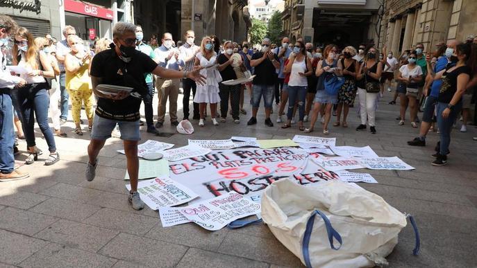 Hostalers anuncien una demanda contra el Govern pels perjudicis