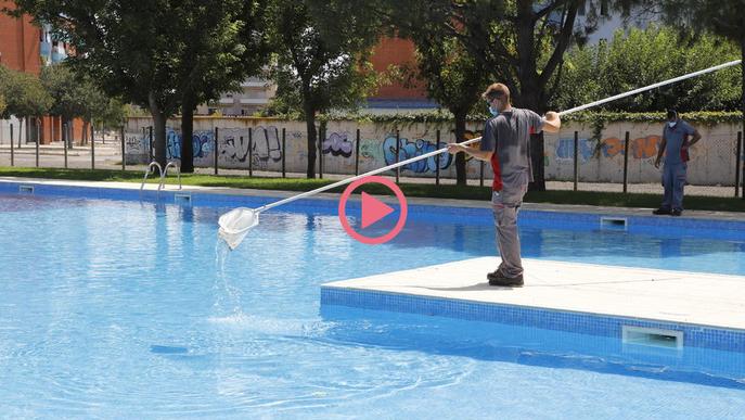 ⏯️ Les piscines de Cappont i Balàfia obriran dilluns amb cita prèvia