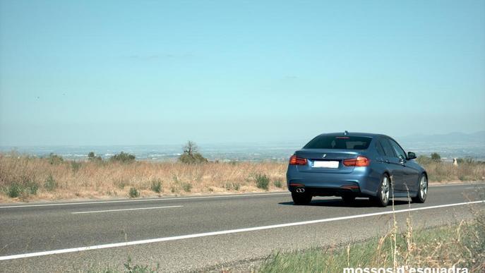 Imputat per circular a 189 km/h per la C-14 a Ciutadilla