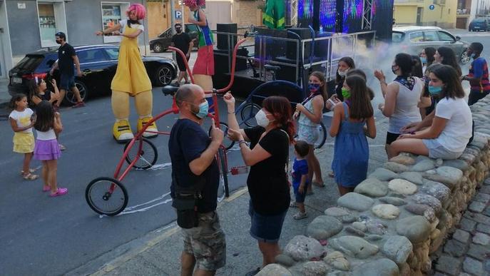 Festa sobre Rodes per als més joves a Linyola