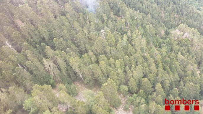 Prop de cinquanta focs han calcinat 26,7 hectàrees forestals aquest any 2020