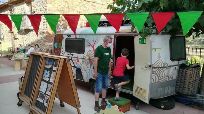 La caravana Puck, de gira per vuit pobles del Pallars Jussà