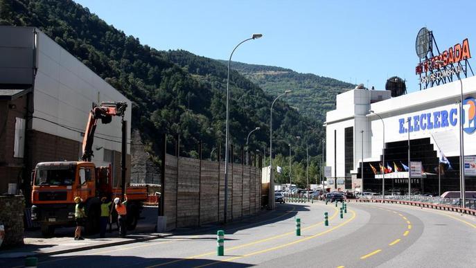 Andorra assegura un pendent per evitar allaus a la via a la Seu