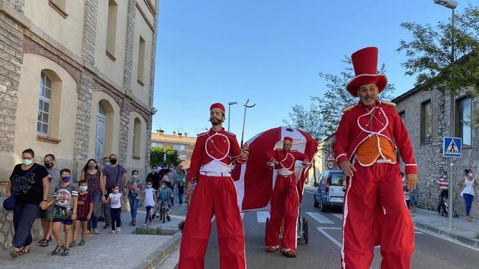 Aitona i Cervera es resisteixen a aparcar les festes i celebren Sant Antolí i la Festiuada