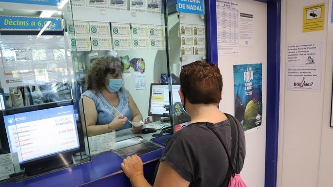 Els lleidatans gasten menys en loteria arran de la Covid