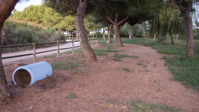 Recuperen la zona de passeig del parc del Reguer de Tornabous