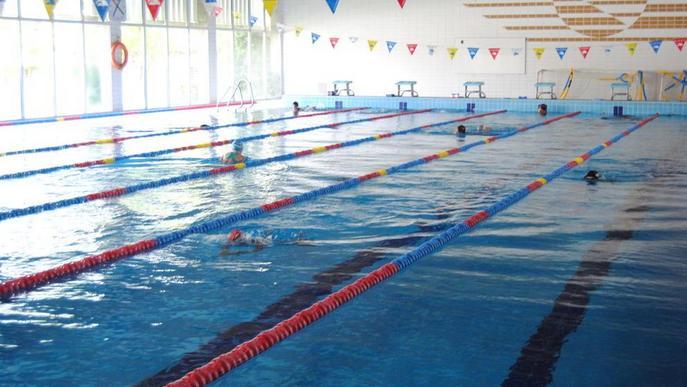Les piscines d'estiu de Mollerussa han tingut un 63 per cent menys de visites que el 2019