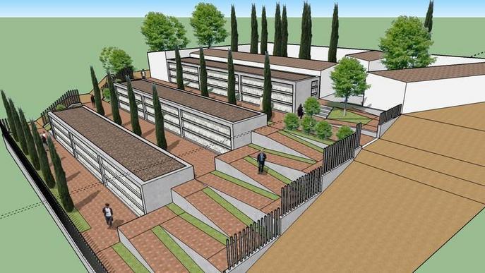 Montoliu amplia el cementiri  per acollir 180 nínxols