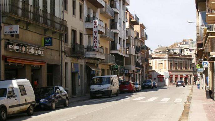 El comerç i el transport d'Artesa de Segre, contra la variant de Comiols