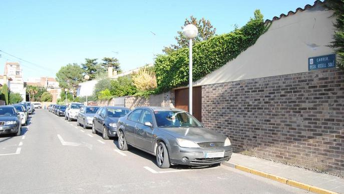 Més zona blava als carrers Navarra, Àngel Rosell o la ronda de Sant Pere