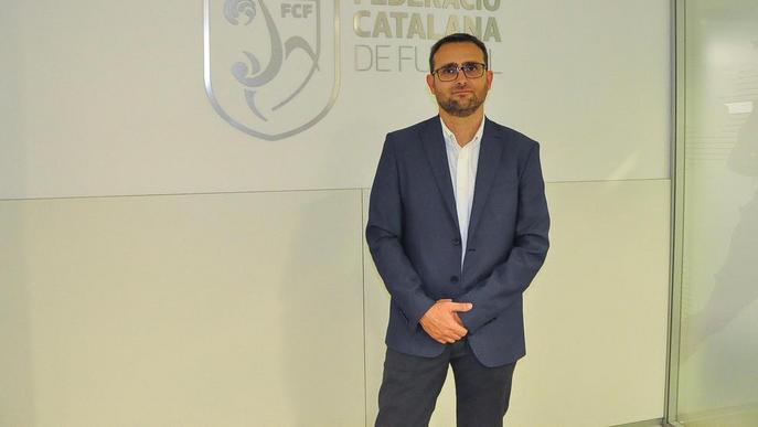 Josep Maria Espasa, nou delegat de la Federació Catalana de Futbol a Lleida
