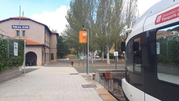 FGC restablirà demà els trens entre Balaguer i la Pobla