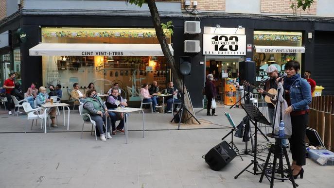La vianalització de l'avinguda València de Lleida, una festa