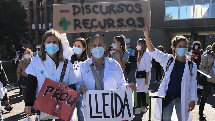 La vaga de metges dels CAP, ajornada per la pandèmia