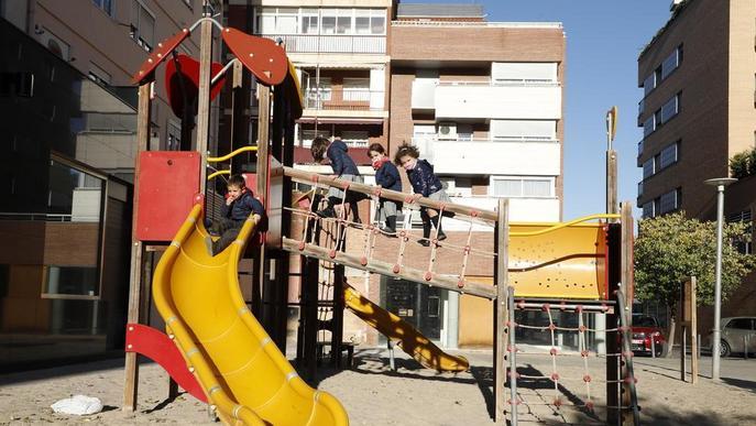 Parcs, jardins i jocs infantils, tancats a les 20.00