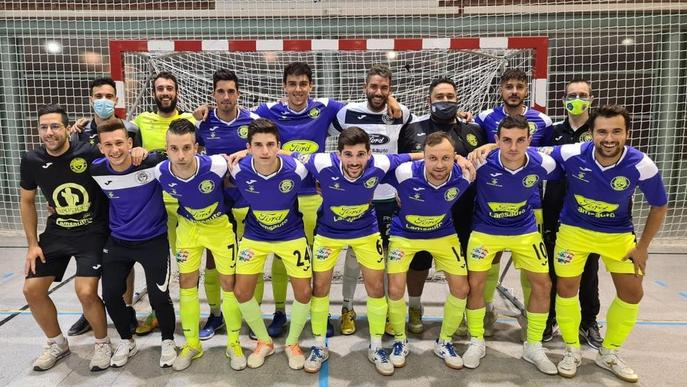 El Futsal Lleida, a escena