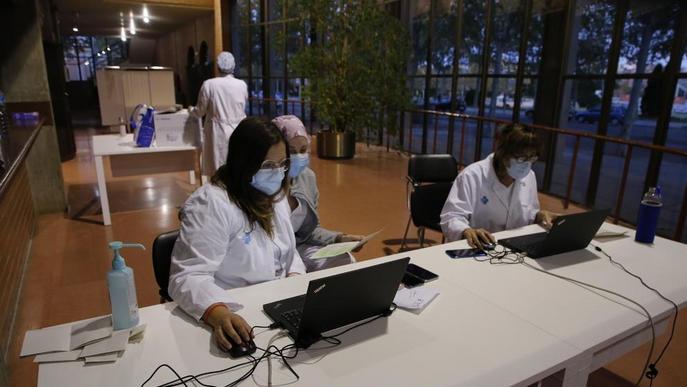 Vacunes de la grip també al pavelló Onze de Setembre