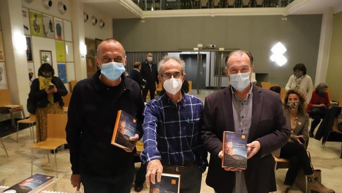 Pep Coll presenta a Lleida el seu nou llibre, 'L'any que va caure la roca'