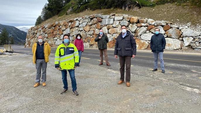 La Generalitat ultima l'ampliació de quatre quilòmetres de la C-28 a Naut Aran