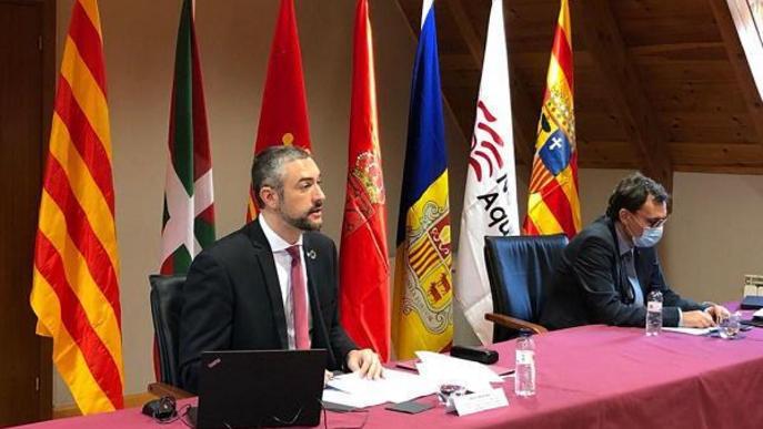 Solé aposta per convertir el Pirineu en un referent europeu de cooperació