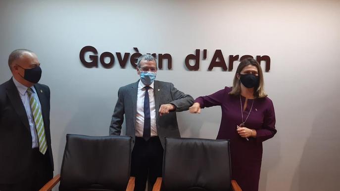 Maria Vergés, tercera síndica d'Aran, assumeix el repte d'assolir el ple autogovern