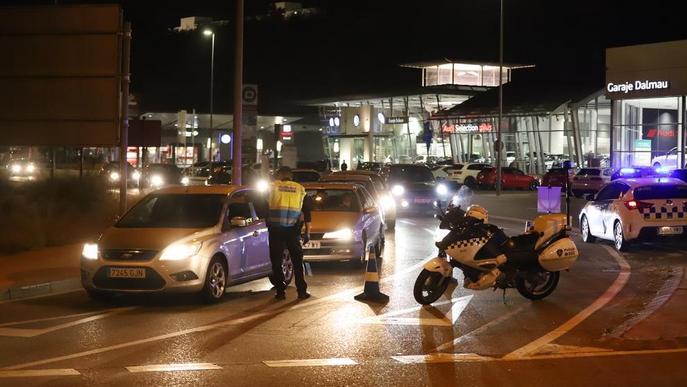 Imposen 1.864 multes en tres dies a Catalunya, 89 a la ciutat de Lleida