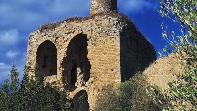 Liciten de nou la consolidació del castell d'Alòs de Balaguer