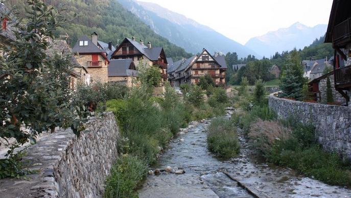 Un municipi de la Val d'Aran rep el distintiu de Poble amb Encant del Govern