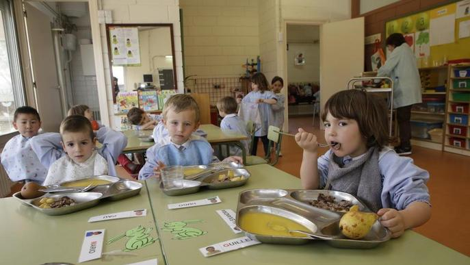 Educació concedeix 8.482 beques de menjador a Lleida, gairebé mil més que l'any passat