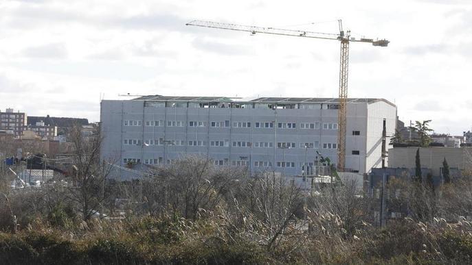 Edifici annex finalitzat Arnau de Vilanova. Arxiu