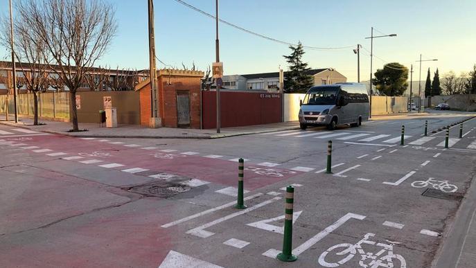 Les Borges Blanques estrena el carril bici i destina 92.000 € del PUOS al teatre