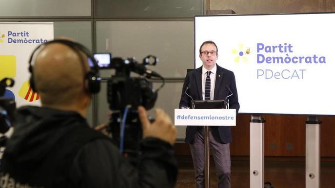 """Marc Solsona reclama """"més poder polític"""" per a Lleida"""