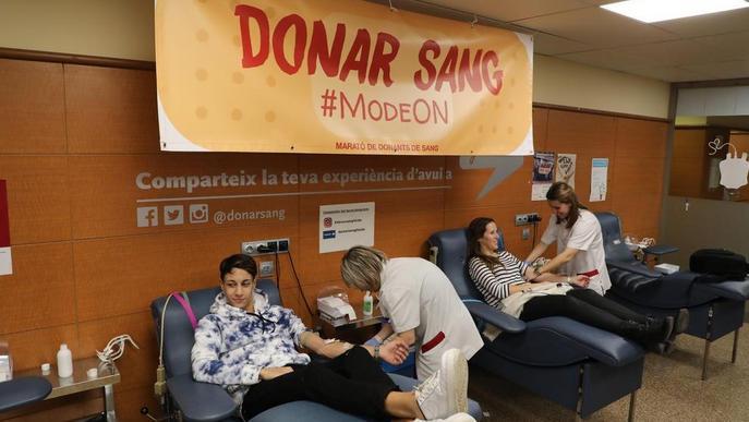 Nova Marató de Donants de Sang amb l'objectiu d'arribar a 10.000 donacions