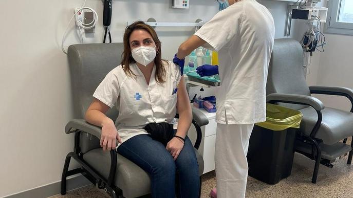 Vacunades ja 2.717 persones a Lleida i el Pirineu