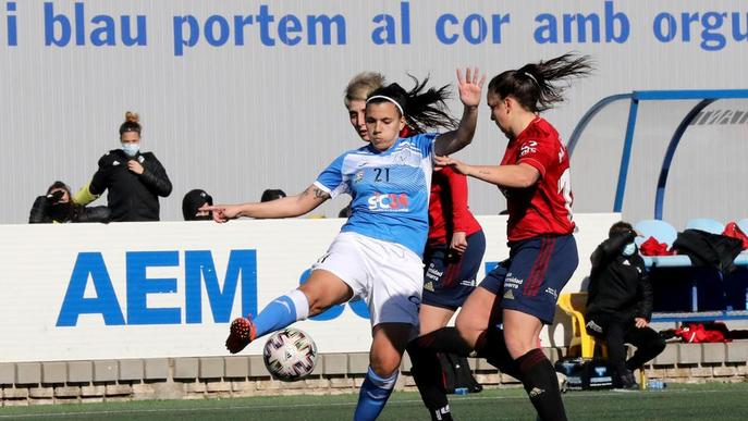 L'AEM, que encara no coneix la victòria el 2021, visita avui el Barcelona B