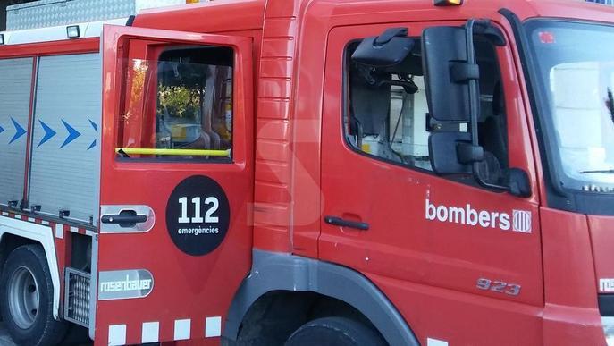 Intoxicat un matrimoni en un foc d'habitatge a Vallfogona de Balaguer