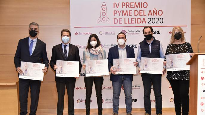 Técnicas Mecánicas Ilerdenses, pime de l'any 2020 de Lleida