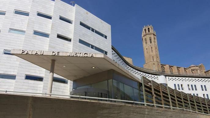 Tanca el jutjat d'instrucció 4 de Lleida pel contagi per covid-19 d'un treballador