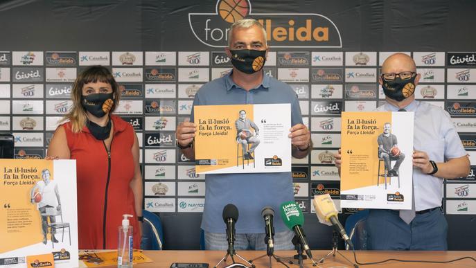 El Força Lleida rebaixa preus per una temporada carregada d'il·lusió