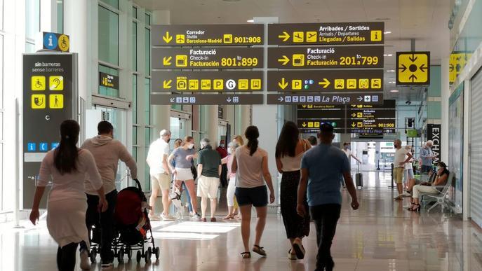 Catalunya va rebre un un 96,5% menys de turistes internacionals al juny