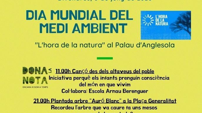 L'hora de la natura al Palau d'Anglesola