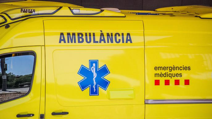 Mor el conductor d'un tractor en una sortida de via a Puigverd de Lleida