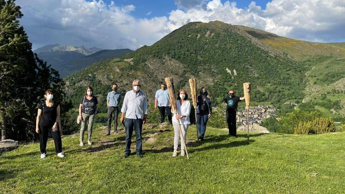 Durro obra la temporada de Falles al Pirineu