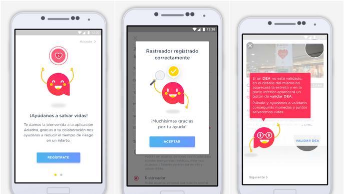 Creu Roja estrena una app que podria evitar 82 morts sobtades per dia