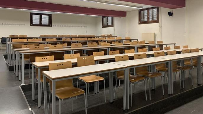 Classe aula buida UdL